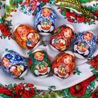 Пасхальная термоусадочная плёнка «Матрёшки», на 7 яиц