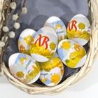 Пасхальная термоусадочная плёнка «Радостные цыплята», на 7 яиц