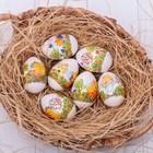 Пасхальная термоусадочная плёнка «Милые цыплята», на 7 яиц