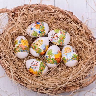 Термонаклейки на 7 яиц «Милые цыплята» - Фото 1