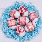 Пасхальная термоусадочная плёнка «Кружево», на 7 яиц
