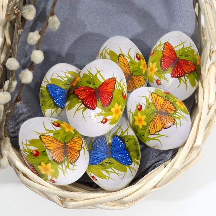 Пасхальная термоплёнка «Бабочки», на 7 яиц