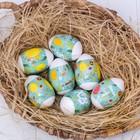 Пасхальная термоусадочная плёнка «Цыплятки», на 7 яиц