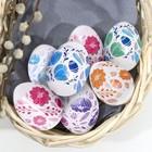 Пасхальная термоусадочная плёнка «Цветочки», на 7 яиц