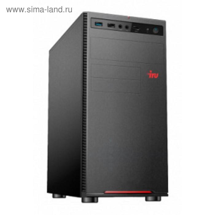 Компьютер IRU Office 312 MT PG G5400 (3.7), 4Гб, SSD240ГбG 610, 400W, черный