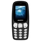 "Мобильный телефон Digma N331 mini 2G Linx, 32Мб, 2Sim, 1.77"", microSD, черный"