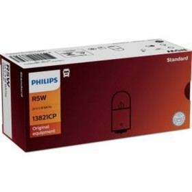 Лампа автомобильная Philips, R5W, 24 В, 5 Вт, 13821CP