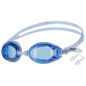 Очки для плавания + беруши, взрослые, цвета МИКС Ош
