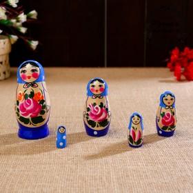 """Матрёшка """"Семёновская"""", 5 кукольная, высшая категория"""