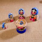 """Матрёшка """"Семёновская"""", 5 кукольная, высшая категория - Фото 3"""