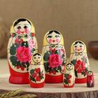 """Матрёшка """"Семёновская"""", 6 кукольная, высшая категория"""
