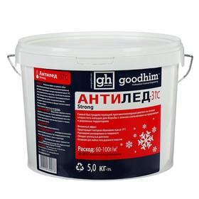 Антигололедный реагент (сухой) 'goodhim 500' до -31, 5 кг, Ведро Ош