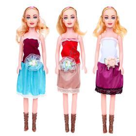 Кукла «Даша» в платье, высота 41 см, МИКС Ош