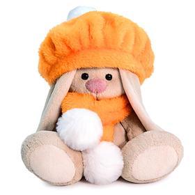 Мягкая игрушка «Зайка Ми в оранжевом берете», 15 см