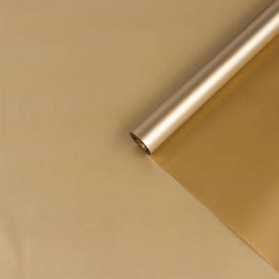 Пленка матовая для цветов, золотая, 0,72 х 8,6 м