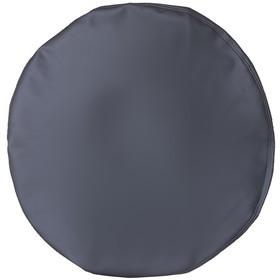 Чехол запасного колеса R16, 17 диаметр 77 см, экокожа, серый Ош