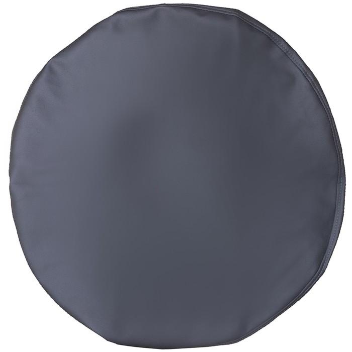 Чехол запасного колеса R16, 17 диаметр 77 см, экокожа, серый