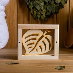 Вентиляционная крышка из липы, 'Кленовый лист, 14,5×12,5cм, без задвижки Ош