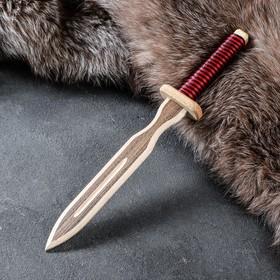 """Сувенир деревянный """"Клинок"""" Тип 3, 31 х 4,5 см"""