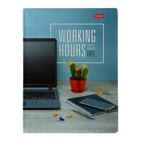 Бизнес-блокнот A5, 80 листов в клетку «Время управлять», твёрдая обложка, глянцевая ламинация, 5 цветных блоков