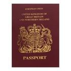 Записная книжка А6, 16 листов «Паспорт. Англия», обложка мелованный картон, матовая ламинация, 3D-фольга, блок 80 г/м²