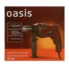 Дрель Oasis DU-85, ударная, 850 Вт, 3300 об/мин, 42000 уд/мин, ЗВП 13 мм, реверс - Фото 6