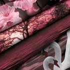 Постельное бельё 2сп Унисон «Лебединая верность», размер 175х215 см, 200х220 см, 70х70 см- 2шт, бязь - Фото 2