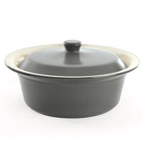 Керамическое блюдо для запекания круглое, 24 см