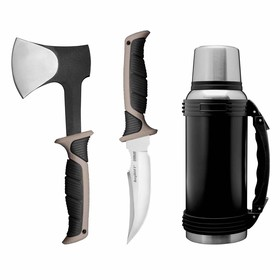 Набор походный Essentials, 3 предмета: топор, нож, термос Ош