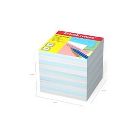 Бумага для заметок ErichKrause 90 x 90 x 90мм, белая, голубая 4457 Ош