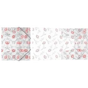 Папка на резинках А5+ пластиковая ErichKrause Bonjour 45444 Ош