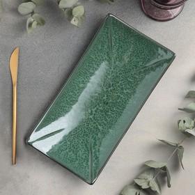 Блюдо для суши Verde notte, 27,5×14 см