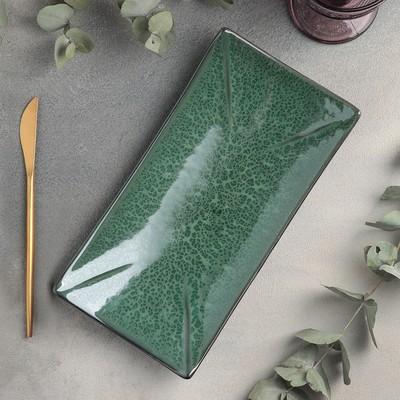Блюдо для суши Verde notte, 27,5×14 см - Фото 1