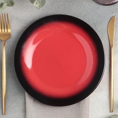 Тарелка Rosa rossa, d=20 см - Фото 1