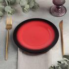 Тарелка Rosa rossa, d=20 см - Фото 2