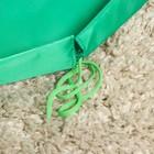 Развивающий коврик - сумка для игрушек «Котик», зеленый, d100 см, оксфорд - Фото 4