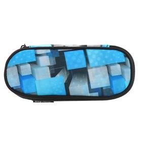 Пенал мягкий футляр, ткань, 50 х 210 х 80, Mag Taller Case Square blue