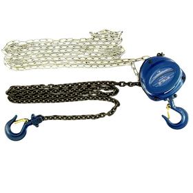 Таль цепная Stels 51944, 1 т, подъем 2.5 м, расстояние между крюками 350 мм Ош