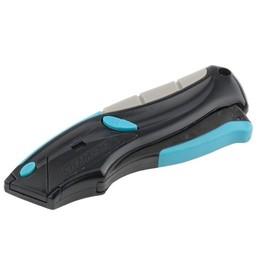 Ремонтно-монтажный нож GROSS 78870, 170 мм, автовыброс, возврат лезвия, 5 лезвий