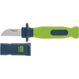 "Нож монтажника ""СИБРТЕХ"" 79014, 197 мм, лезвие 50 мм, обрезиненная рукоятка, чехол"