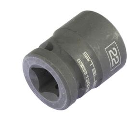 Головка ударная Stels 13926, 22 мм, 1/2', CrMo, шестигранная Ош