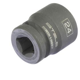 Головка ударная Stels 13927, 24 мм, 1/2', CrMo, шестигранная Ош