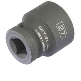 Головка ударная Stels 13928, 27 мм, 1/2', CrMo, шестигранная Ош