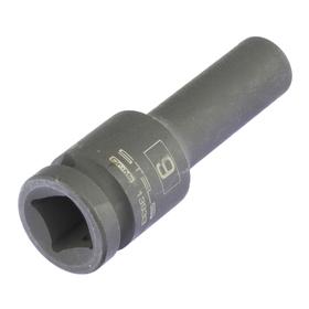 Головка ударная Stels 13933, 9 мм, 1/2', CrMo, шестигранная, удлиненная Ош