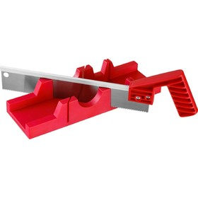 Набор 'ЗУБР' 15380-30, 65х35 мм, стусло пластиковое, 45/90°, пила 300 мм, 12 TPI Ош