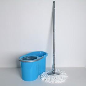 Набор для уборки МОП 'Style', 16 л, цвет голубой Ош