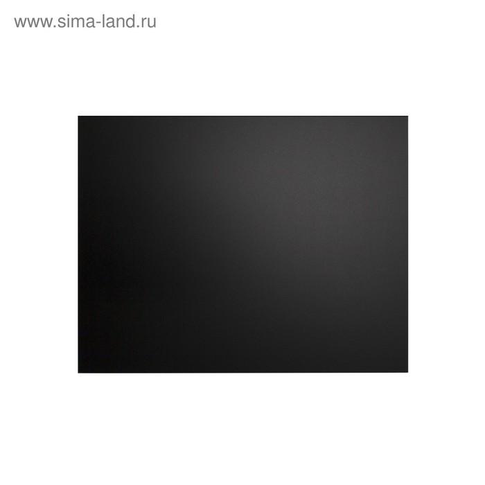 Доска меловая без рамки 700*500 мм, цвет чёрный
