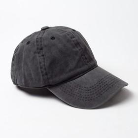 Бейсболка  MINAKU, размер 58, цвет черный Ош