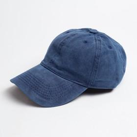 Бейсболка  MINAKU, размер 58, цвет синий Ош