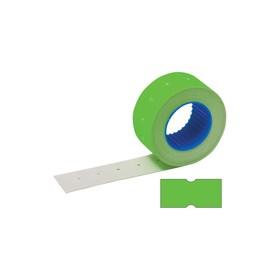 Этикет-лента 21,5 х 12 мм, зеленая, 800 этикеток Ош